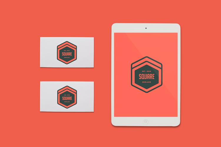 Free IPad Business Cards Mockup HeyDesign Graphic Design Typogr