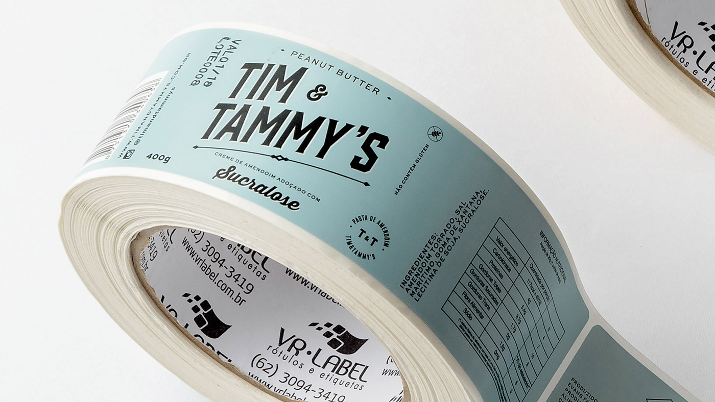 Tim & Tammy's - Brand Packaging by BR - BAUEN
