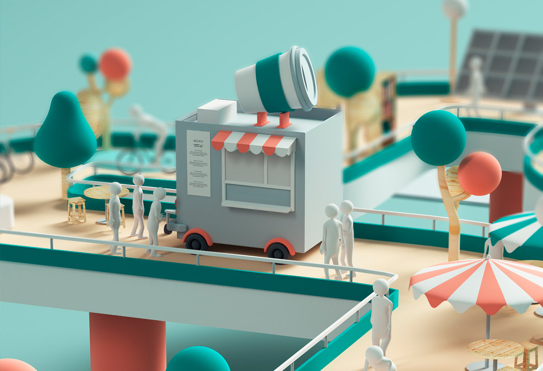 3D Inspiration & Digital Art by Nuria Madrid