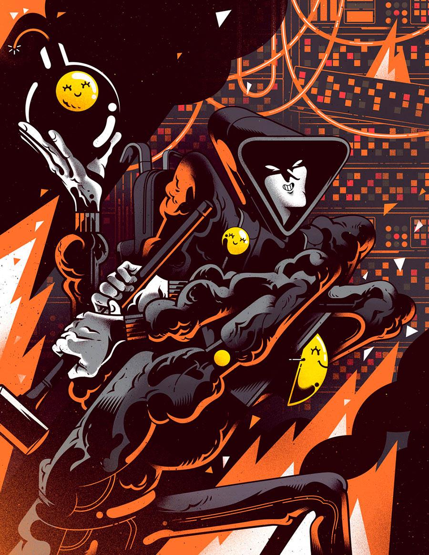 Illustration Inspiration by Gabriel Silveira