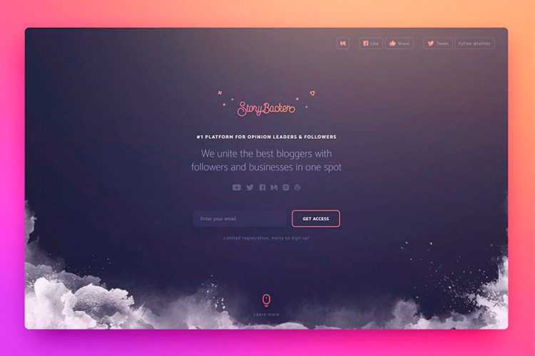 Web Design Inspiration - 20 Examples of the Best in UI & UX