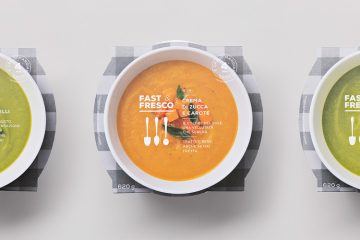 Fast & Fresco - Identity & Packaging Design Inspiration
