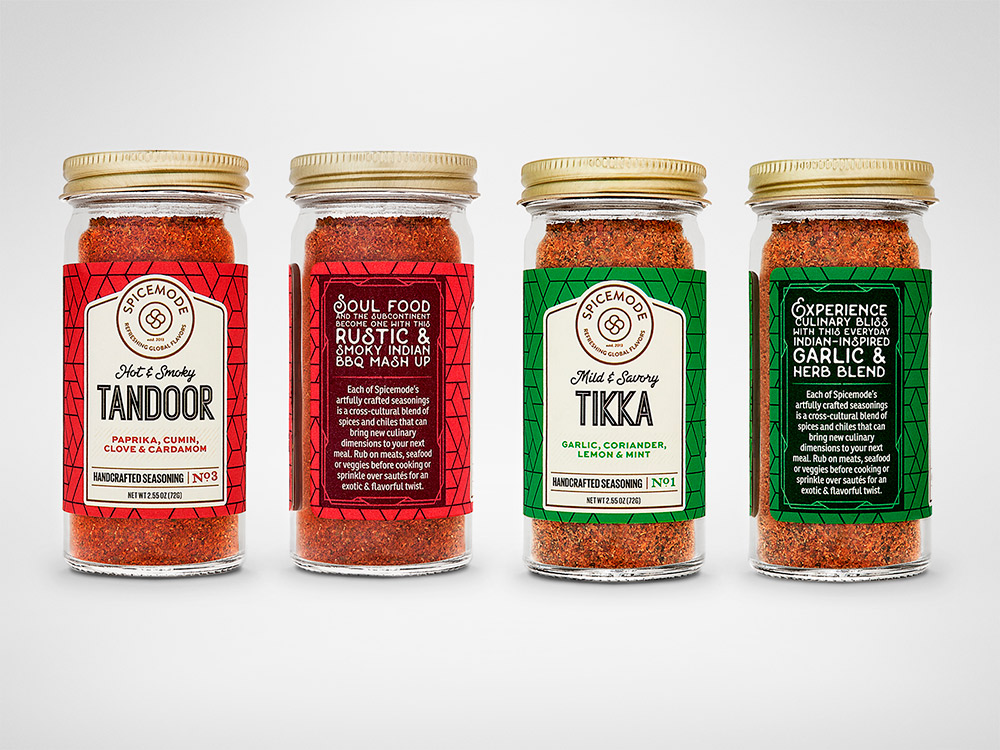 Branding & Packaging Design Inspiration - Spicemode