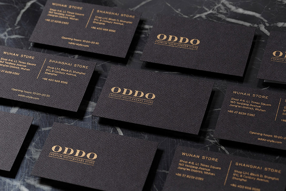 ODDO Project - Branding Inspiration by Frames