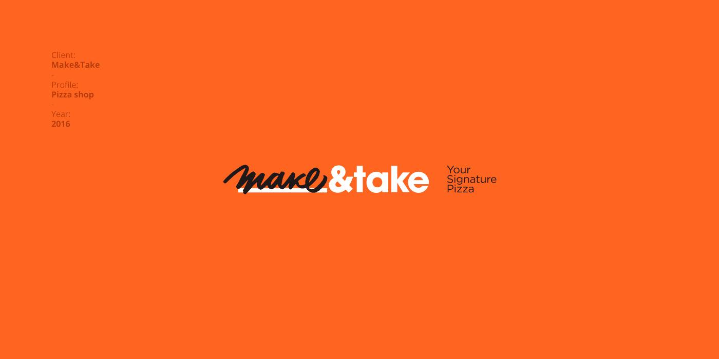 Make&Take - Your Signature Pizza - Graphic Design by FourPlus Studio