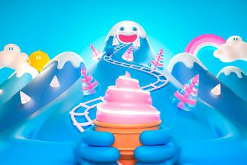 Fun 3D Ride Around French Cities with this Animation for Ouigo