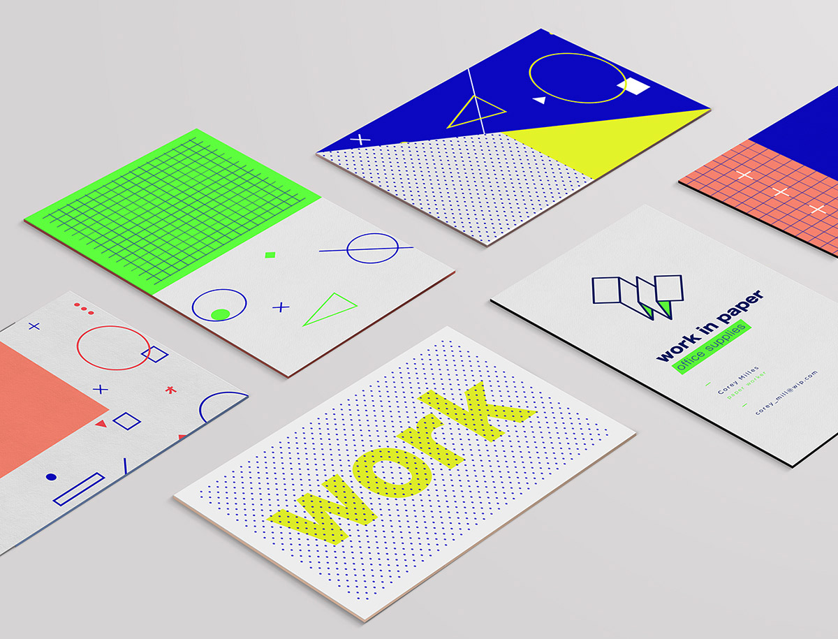 Branding Inspiration - Fresh, Playful & Unique Work of SMF Studio