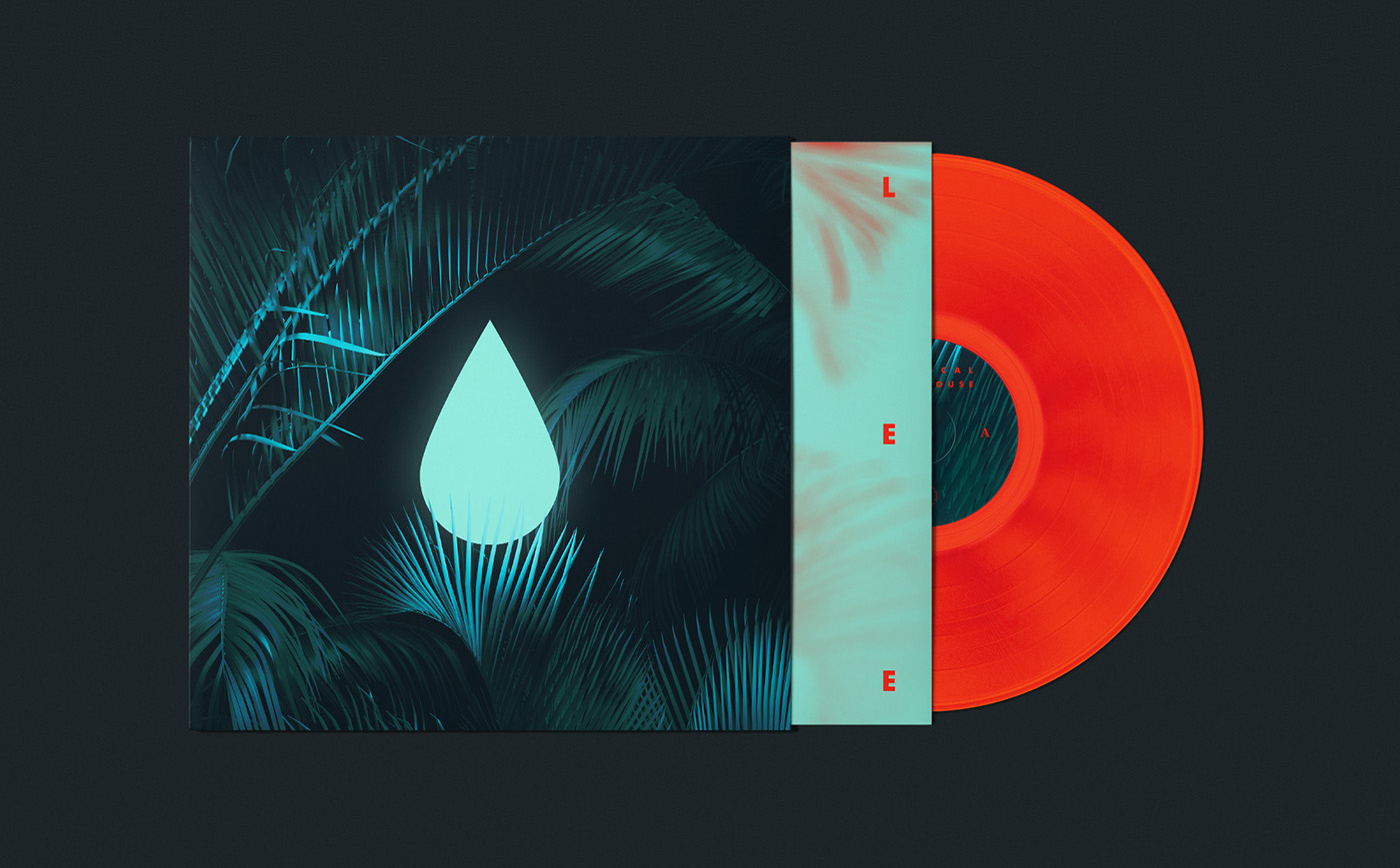 Graphic Design Inspiration - Tropical Lighthouse by Robert Bazaev