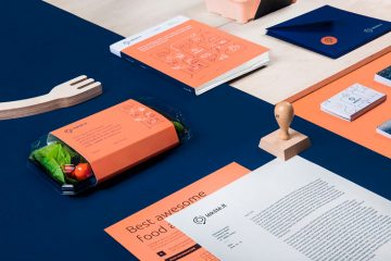 Branding & Stationary Design Inspiration - Lekste / Food Delivery by Andstudio