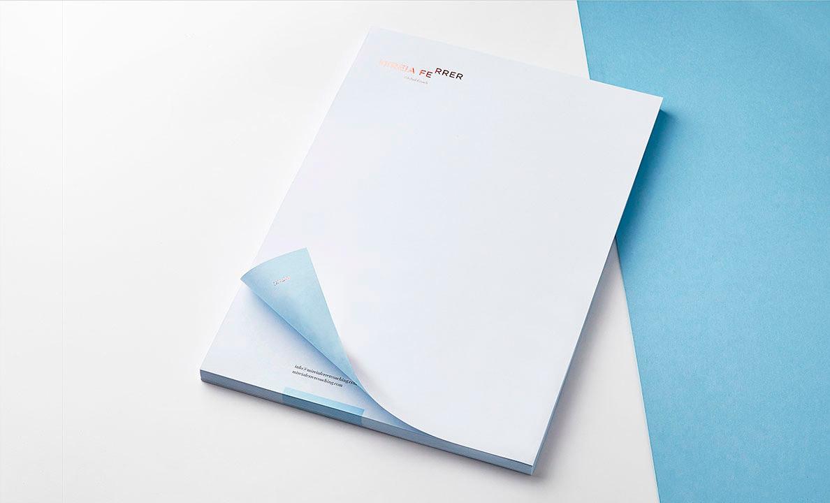 Branding Design Inspiration - Mireia Ferrer by Zoo Studio