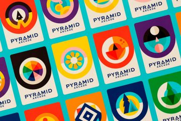 Pyramid Arcade - Branding, Print, Packaging Design Inspiration