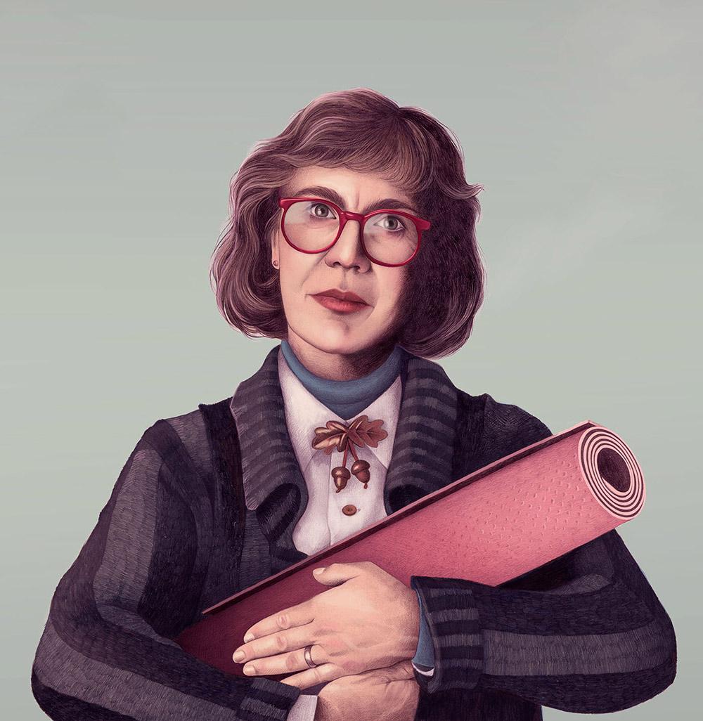 Digital Art Inspiration - Portrait Collection by Mercedes deBellard