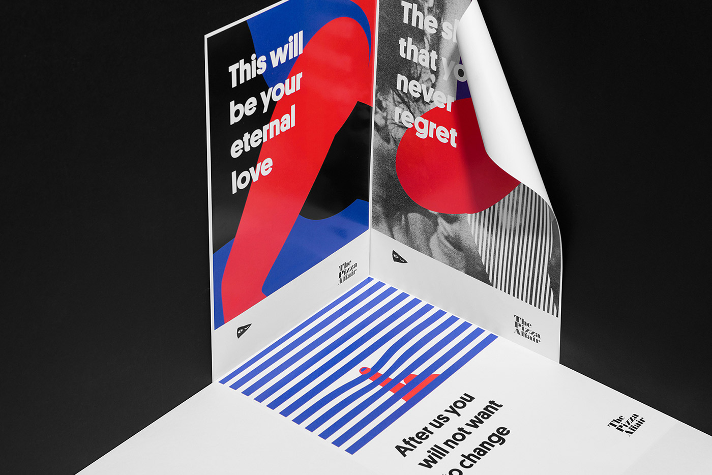 Graphic Design & Packaging - The Pizza Affair by Futura