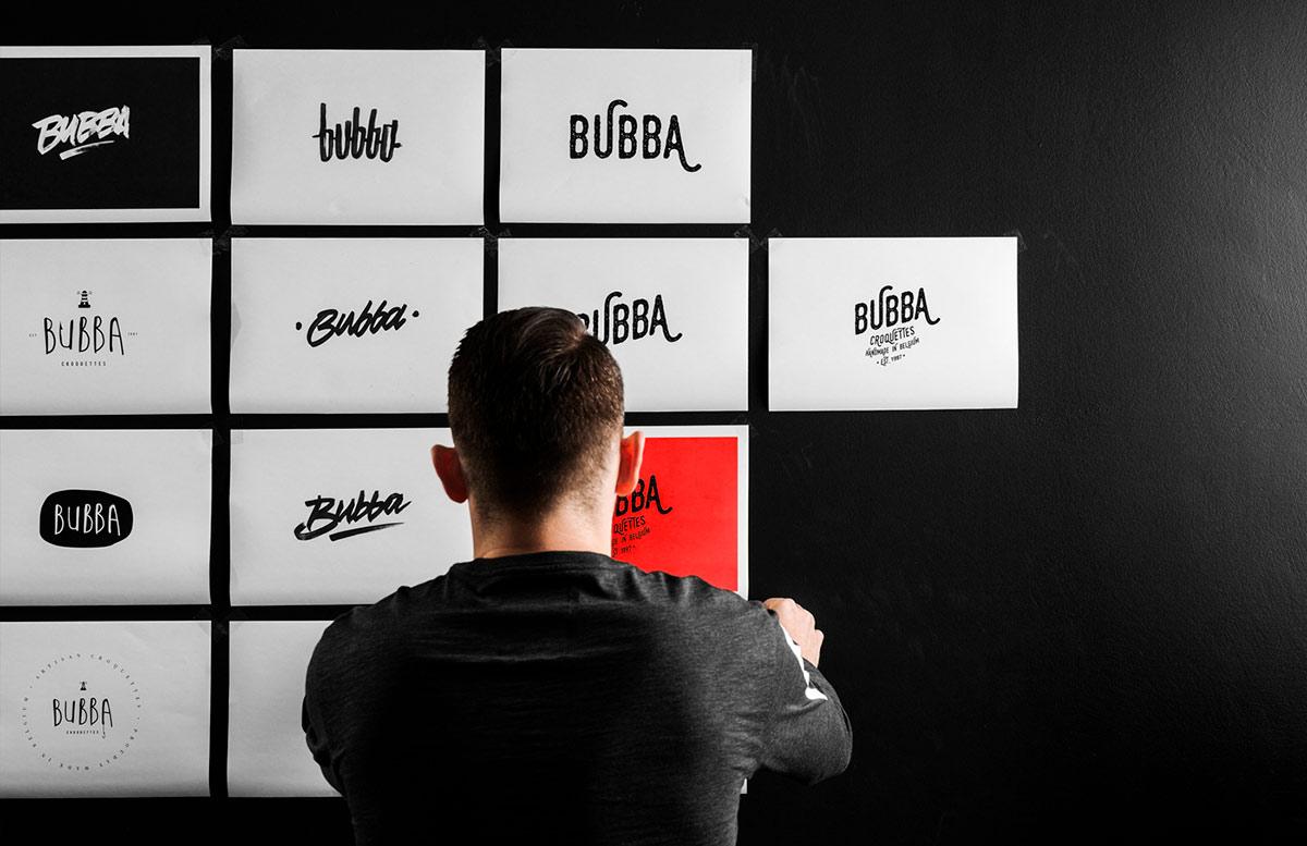 Branding & Cool Graphic Design - Bubba - Handmade Croquettes