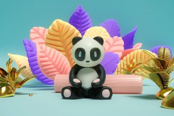 The Enlightenment of Cosmic Panda - Animation and Character Design Inspiration