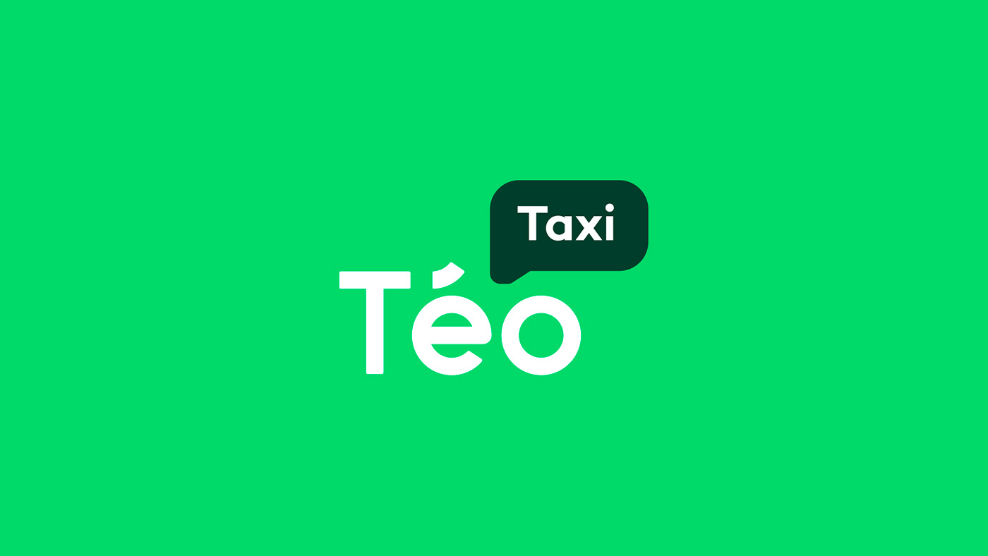Communicating the Ecological Side of the Brand - Graphic Design for Téo Taxi
