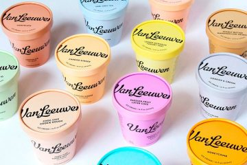 Van Leeuwen Artisan Ice Cream - Identity and Packaging Design Inspiration