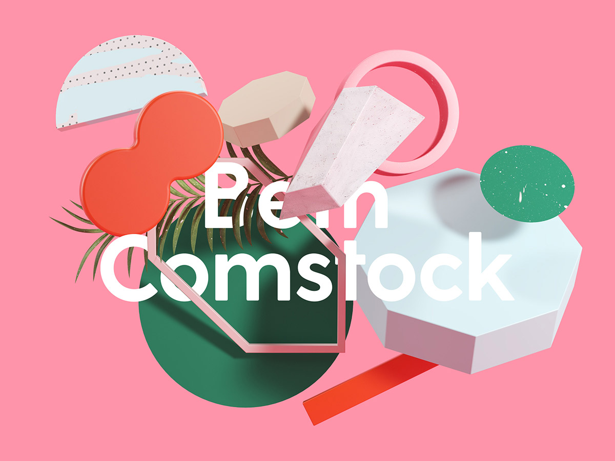 Brand Identity & 3D Design - Beth Comstock, a Woman Making Waves in Tech and Business