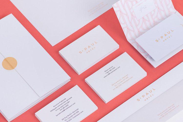 Branding Design Inspiration - St Paul Hotel