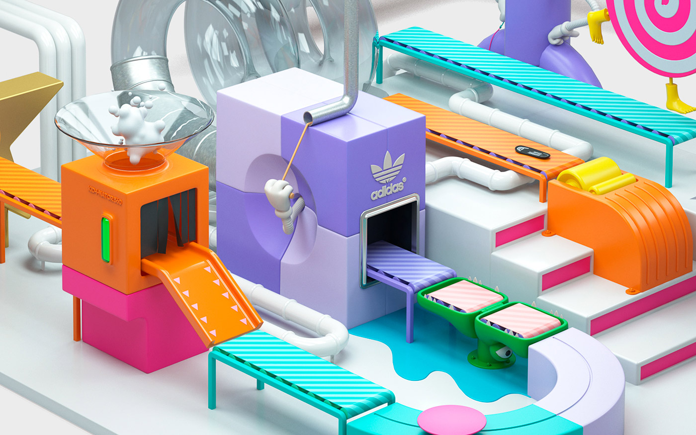 Animation & Digital Art - Adidas Kids 360