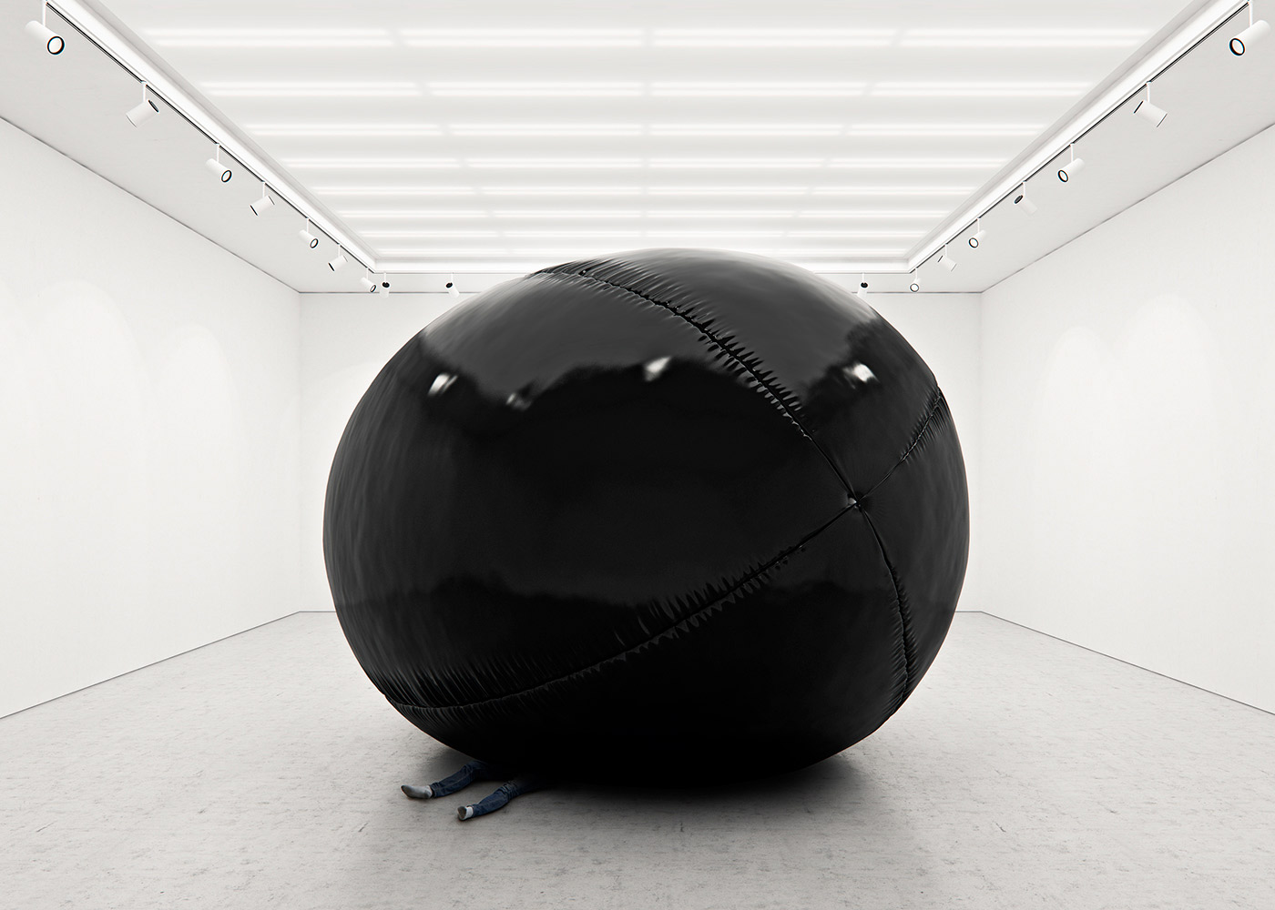 Black Balloons Project - Conceptual Art by Tadao Cern