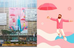 Lotte World Mall 2017 Spring/Summer Campaign & Graphic Design