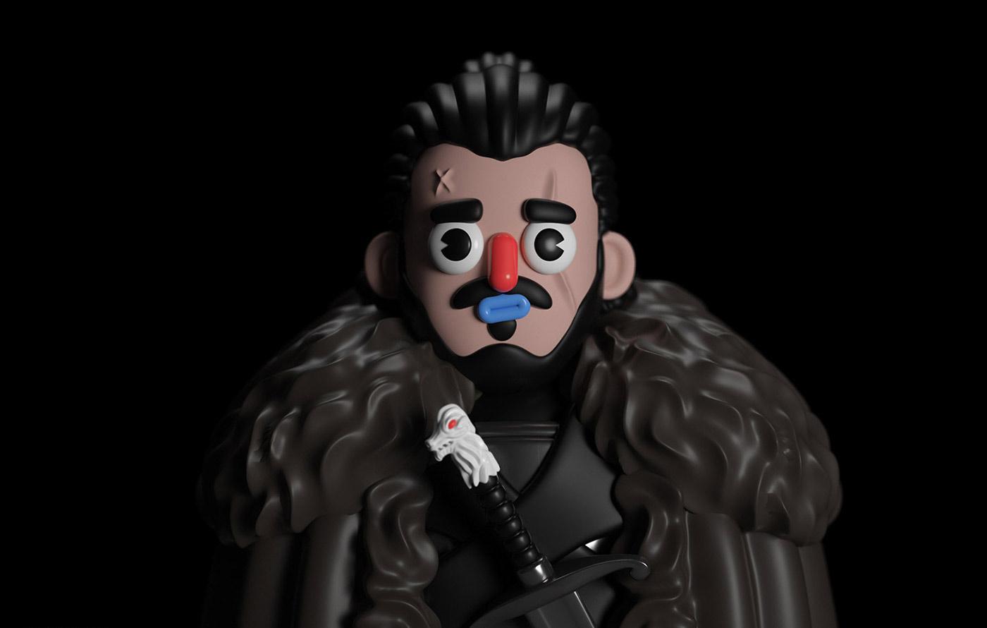 Game of Thrones Fan Art - Character Design & Illustration
