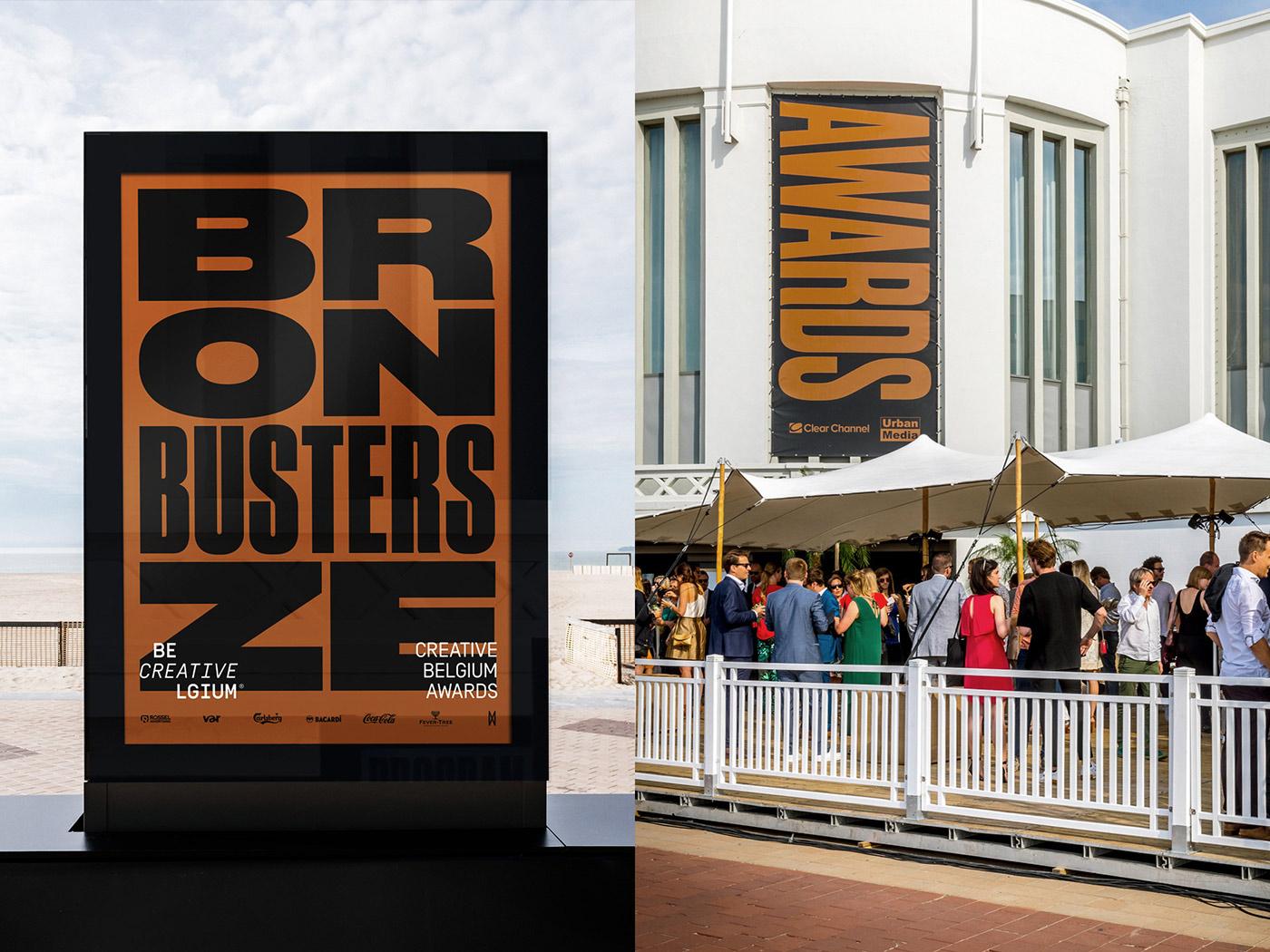 Creative Belgium Awards 2017 - Branding Inspiration & Poster Design