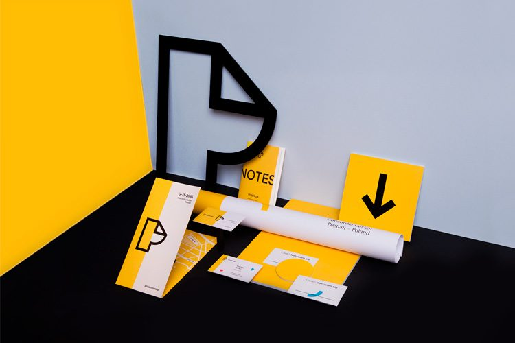 Inspiration for Further Creative Work - Projections / Graphic Design Conference