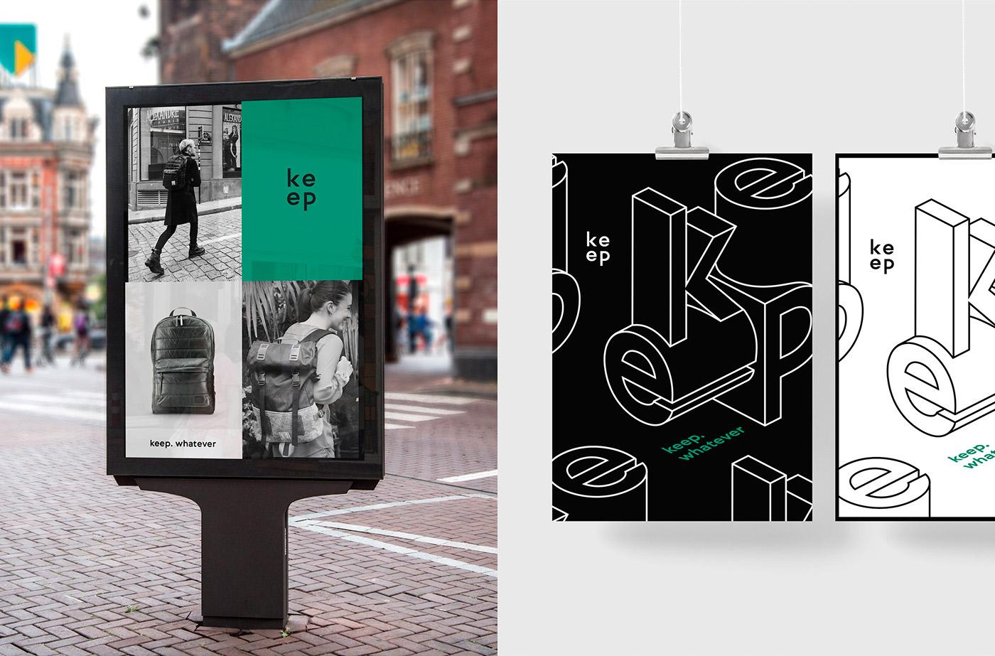 Urban Design & Branding for Keep Packs