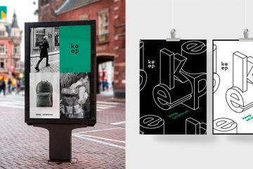 Urban Design & Branding for Keep Packs