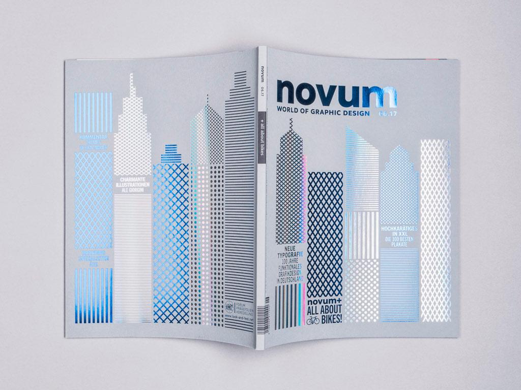 10 Amazing Cover Designs from Novum Magazine