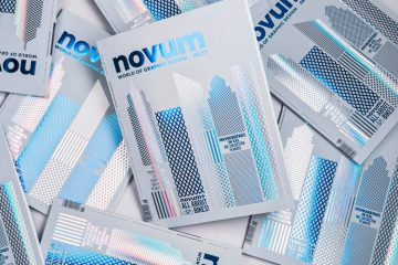 10 Beautiful Cover Designs from Novum Magazine