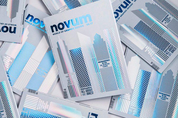 10 Beautiful Cover Designs from Novum Magazine