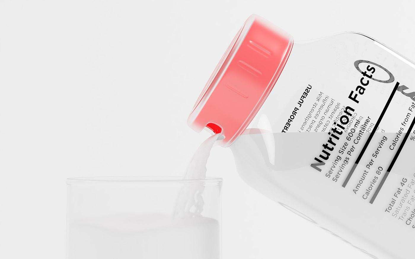 Milk Packaging and Branding by Erik Musin