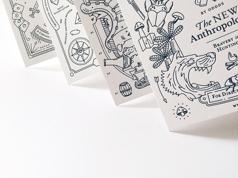 Rebranding & Illustrations for The New Anthropology
