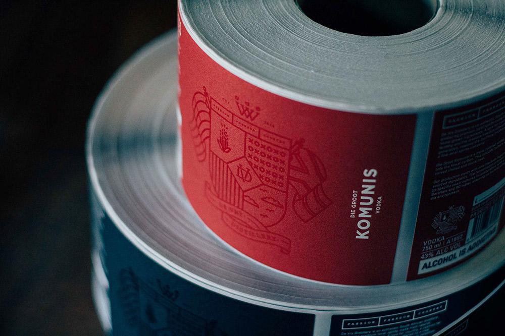 Beverage Packaging and Branding Inspiration De Vry Distillery