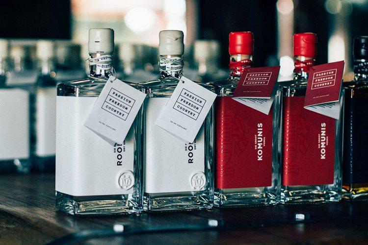 Beverage Packaging & Branding Inspiration De Vry Distillery