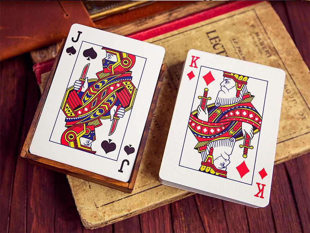 Awesome Illustration and Print Design Outlaws Playing Card Deck