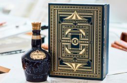 Illustration & Packaging Design Royal Salute Festive Pack