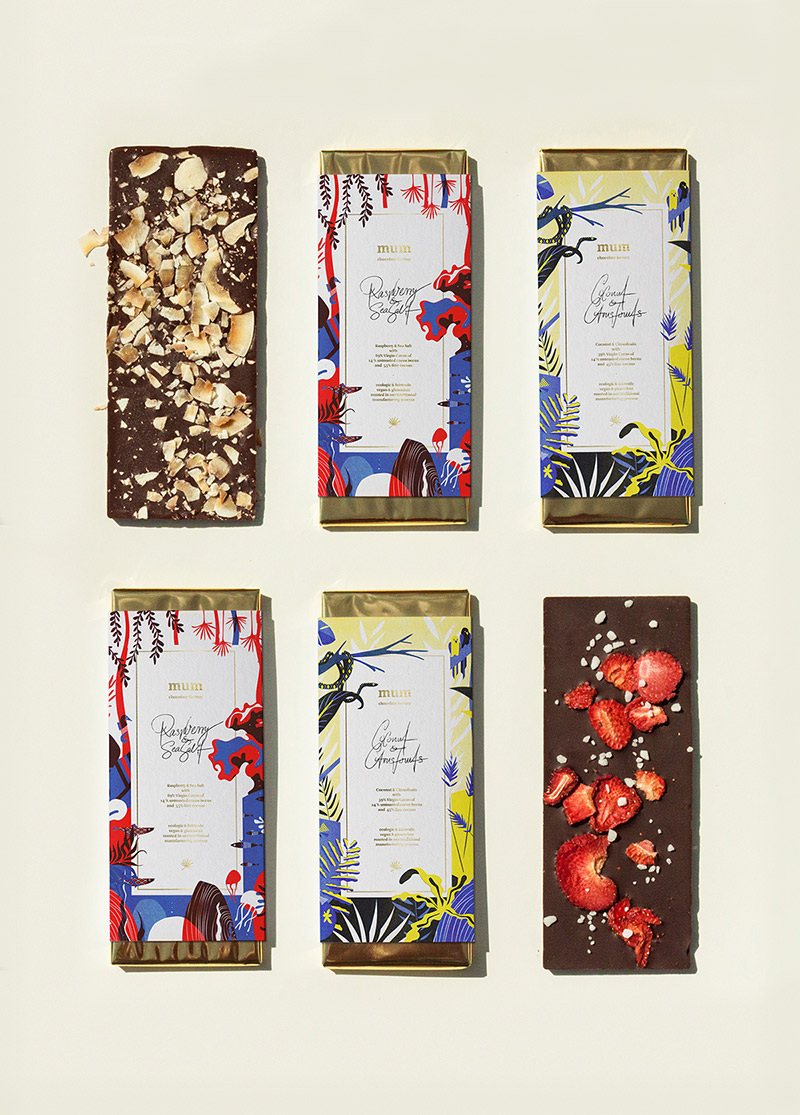 Mum Chocolate Factory Packaging Collection