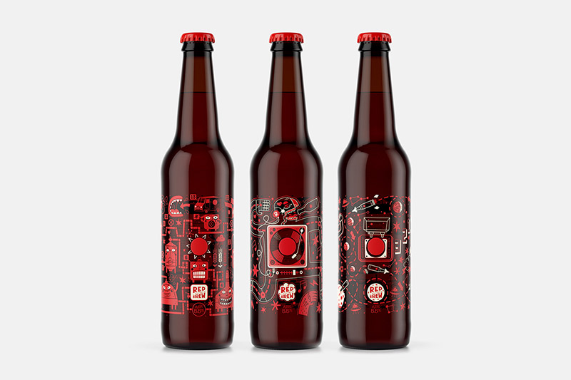 Red Button Brew Technology in Packaging & Thermochromic Printing