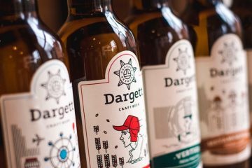 Dargett Craft Brewery Branding
