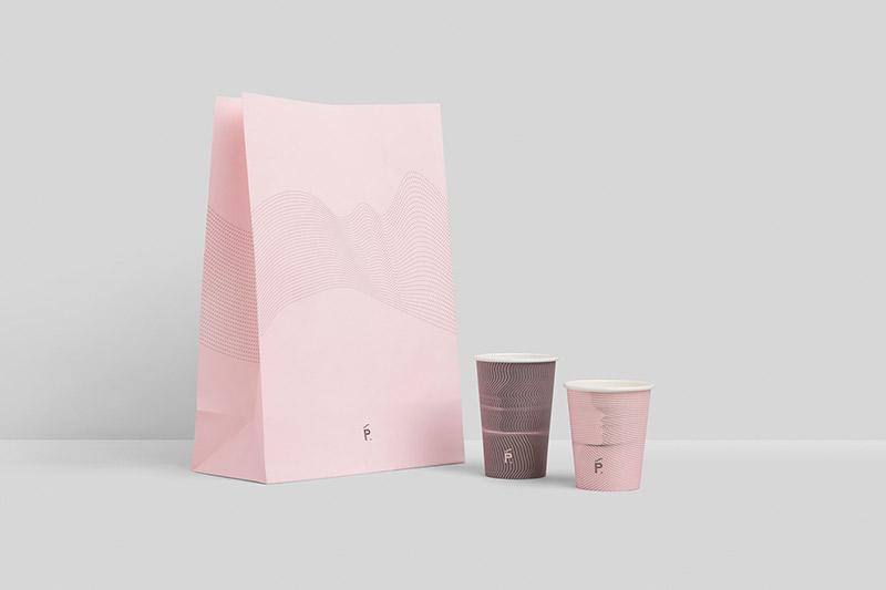 Penta Cafe Branding by Pop & Pac