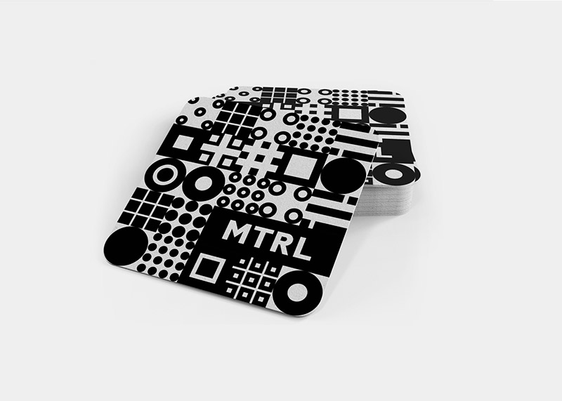 Creative Patterns for the New Mtrl Kyoto Identity