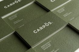 Stationery Design for Carpos by Panos Tsakiris