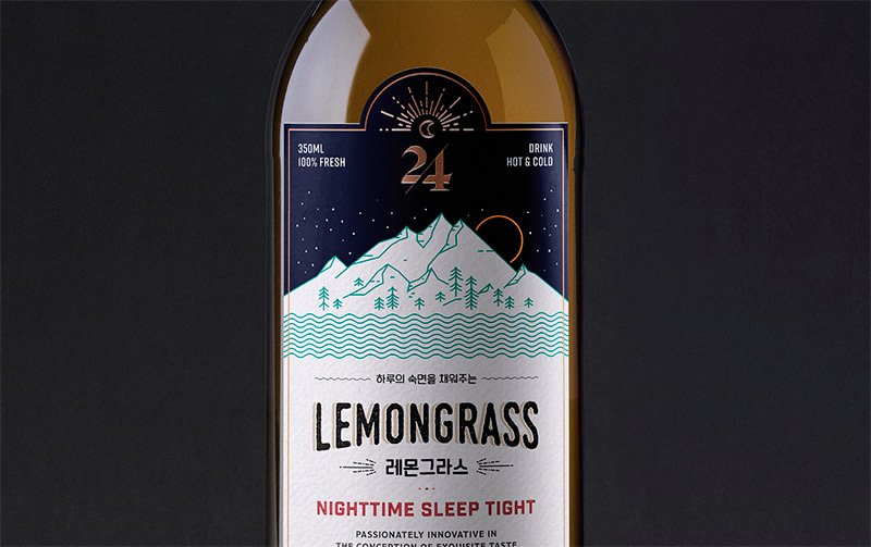 24 O'Clock Brand & Package Design