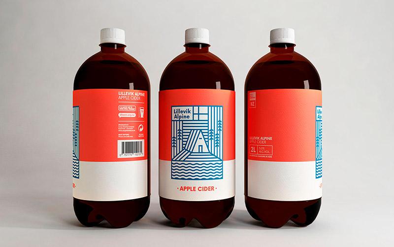 Lillevik Alpine Cider Packaging & Identity Design