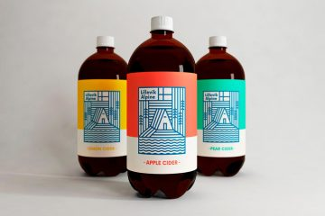 Lillevik Alpine Cider Packaging & Identity Design