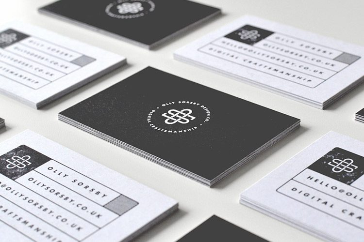 Business card tips for designers